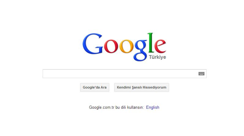 Turkish Google
